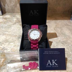 Anne Klein Pink Watch